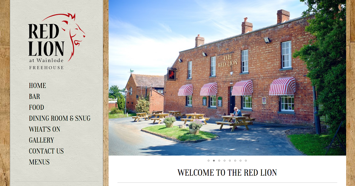 The Red Lion Wainlode - County Pubs Gloucestershire